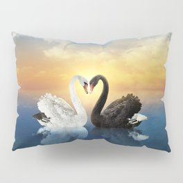 Cisnes Love Pillow Sham