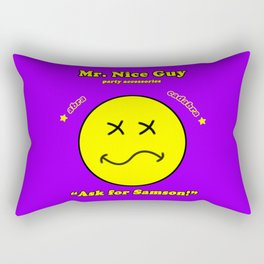 Mr. Nice Guy Rectangular Pillow