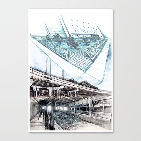 Urban passages: Chicago  Canvas Print