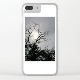Silhouette Nightshine Clear iPhone Case