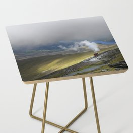 Snowdonia Mountain Railway Side Table