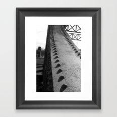Boston University Bridge Framed Art Print