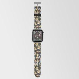 Dark Botanical Story Apple Watch Band