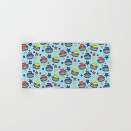 Curling Stone Print Hand & Bath Towel