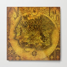 The World of Lucimia Metal Print
