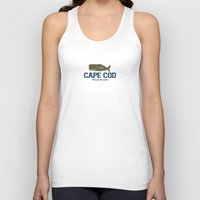 cape cod Tank Tops featuring Cape Cod by America Roadside