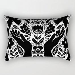 lift your hands Rectangular Pillow