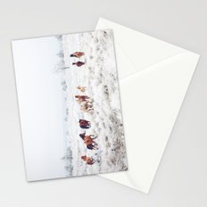 Winter Horses Stationery Cards