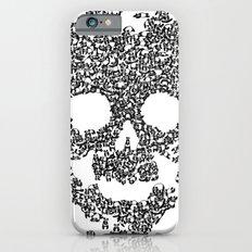 Panda is cool/skull iPhone 6s Slim Case