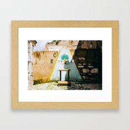 Alfama - Lisbon, Portugal - #6 Framed Art Print