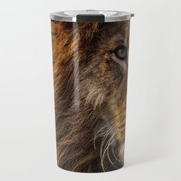 Majestic Lion Travel Mug