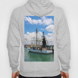 Beautiful fishing boat Hoody