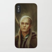 legolas iPhone & iPod Cases featuring Legolas by taryndraws2
