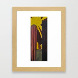 Cirios Framed Art Print