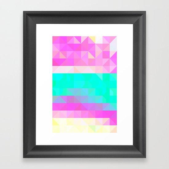 Pink Natures Framed Art Print