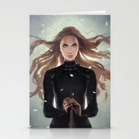Stationery Cards featuring Feyre by charliebowater