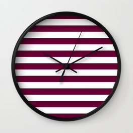 phoenix flag stripes Wall Clock