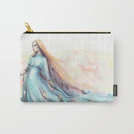 """""""Imperial Waves"""" Watercolour Surrealism Pressure Carry-All Pouch"""