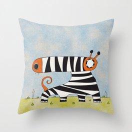 Red mummynimal Throw Pillow