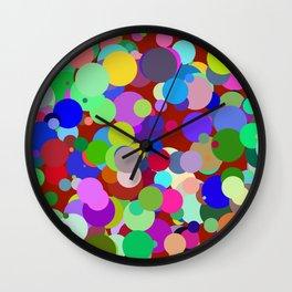 Circles #14 - 03192017 Wall Clock