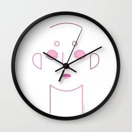 Pink Andy Wall Clock