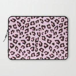 Leopard Print - Pink Chocolate Laptop Sleeve