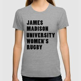 JMU Rugby - In A Line T-shirt
