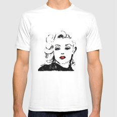 Marilyn M Mens Fitted Tee White MEDIUM