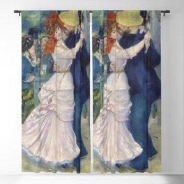 Pierre-Auguste Renoir - Dance at Bougival Blackout Curtain