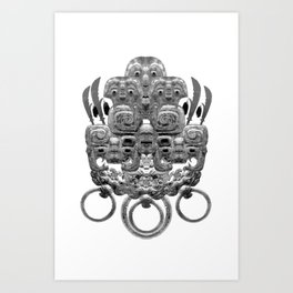 Relic Mask Art Print