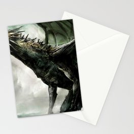 Awesome Super Scary Angry Monstrous Dragon Roaring Ultra HD Stationery Cards