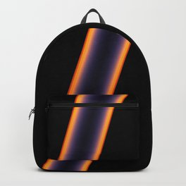 Black Stripes Backpack