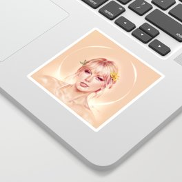 and baby for you, i would fall from grace Sticker