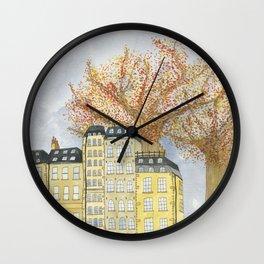 Where Do You Live Wall Clock