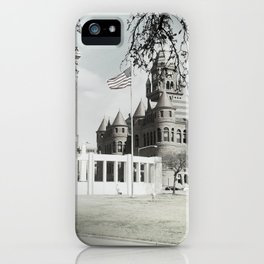 SPRING IN DEALEY PLAZA iPhone Case