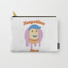 Neapolitan Man Illustration Carry-All Pouch