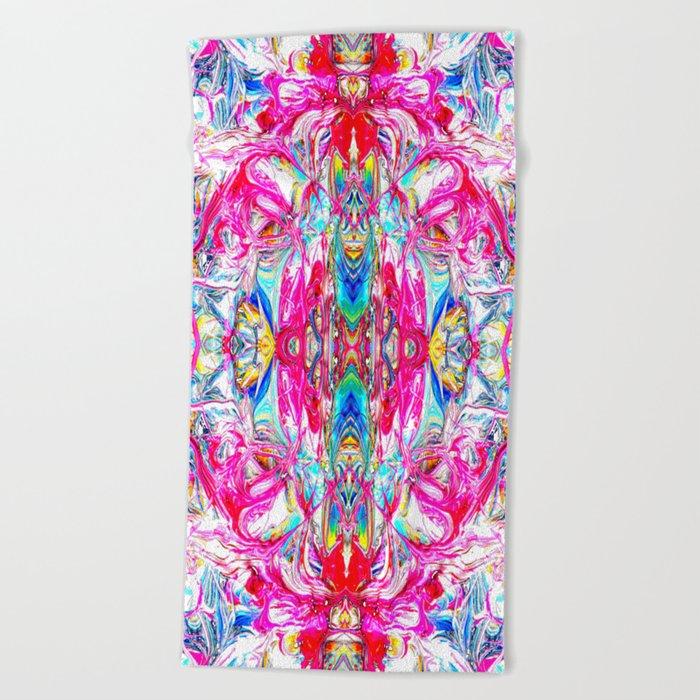 Sophisticated Psychedelic Boho II Beach Towel