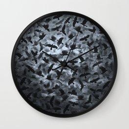 ravens Wall Clock