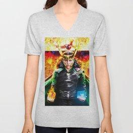 Loki - Ragnarok IV Eternal Flame Unisex V-Neck
