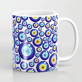 Evil eye pattern Coffee Mug