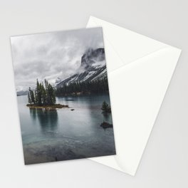 Maligne Lake Jasper Alberta Stationery Cards