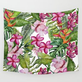 Tropical Garden 3 Wall Tapestry