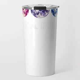 Not A Phase Bisexual LGBTQ Bi Pride Flag Moon Gift Tee T-Shirt Travel Mug