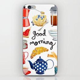 Good Morning iPhone Skin