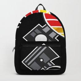 German Cars Engineering Piston Heart Backpack