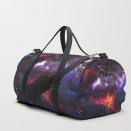 Beauty of Pollution / Aerosol Earth - Middle Part Duffle Bag