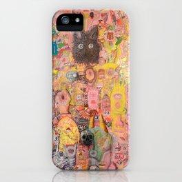 Pink Nightmare iPhone Case