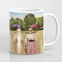 Two Pretty Kitties: Out for a Stroll Coffee Mug