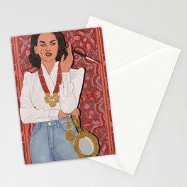 Sassy Desi Woman Stationery Cards