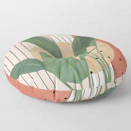Nature Geometry V Floor Pillow